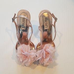 Badgley Mischka Azbrina blossom heels